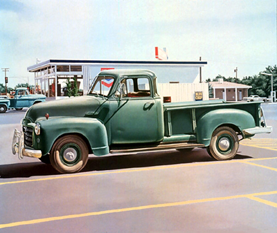 Blue chip truck 1969