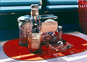Ralph_Goings-Still_Life_with_Red_Mat