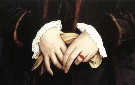 les mains de Christine