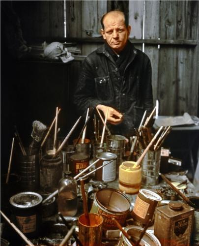 Arnold Newman JACKSON POLLOCK
