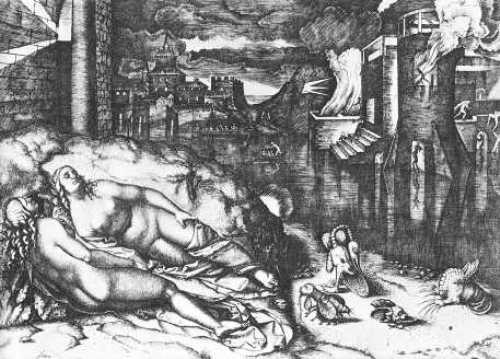 marcantonio Raimondi le songe de Raphael